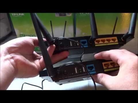 TP-Link Archer C5 V1 2 AC1200 Dual Band Gbps Router vs TP