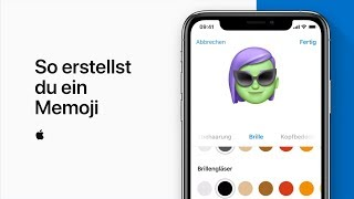 So erstellst du ein Memoji — Apple Support