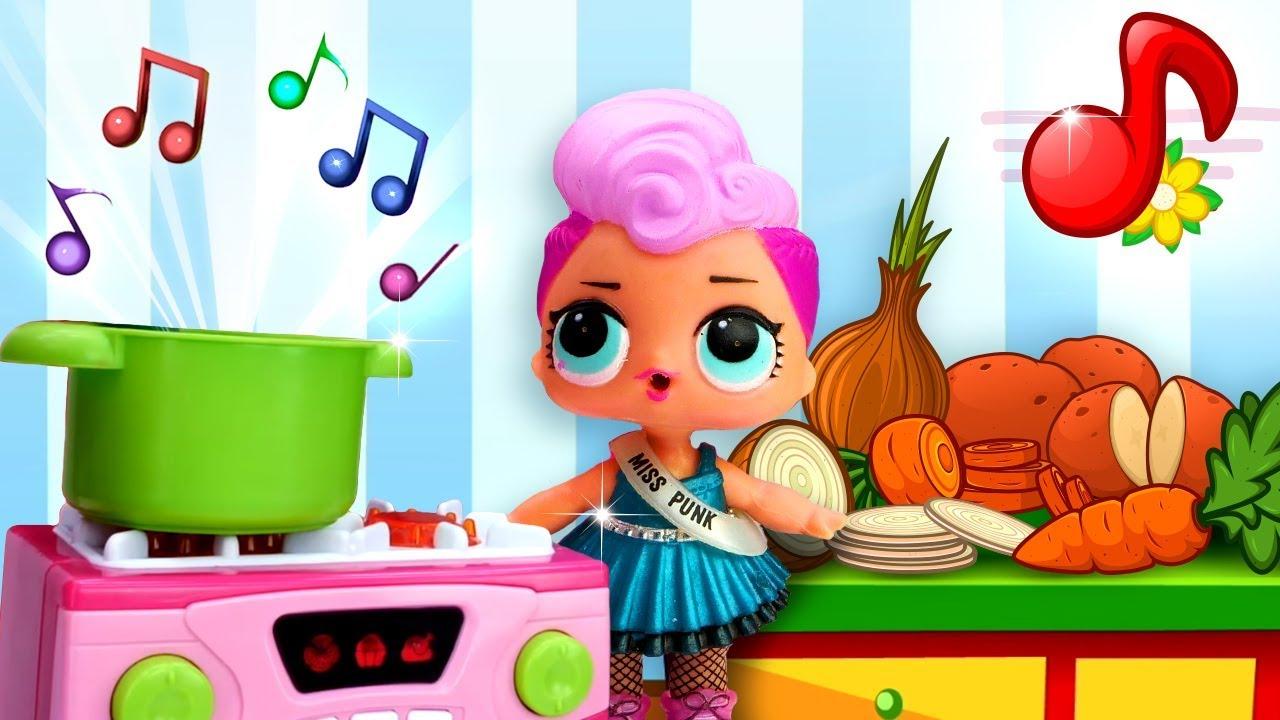 Новая песенка для детей про куклу Лол. Музыкальный мультик ...