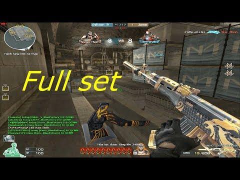 [ Bình Luận CF ] AK47-S Gold Phoenix - Tiền Zombie v4
