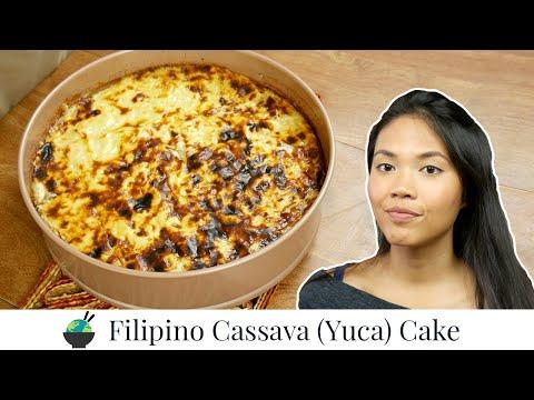 cassava-cake-recipe- -how-to-make-filipino-cassava-cake- -filipino-desserts