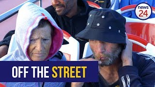 WATCH   Cape Town's homeless treated to bus tour and celebration