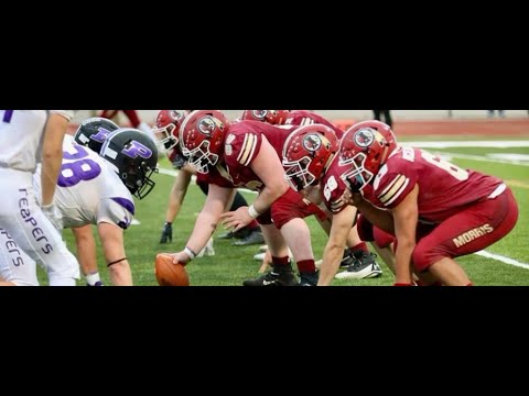 2020 Fall Football highlights Nick Perry Morris Community High School 2023 6'1 290