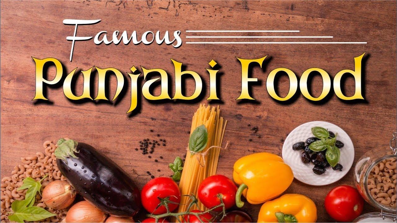 Famous Punjabi Foods | Veg. Punjabi Cuisine