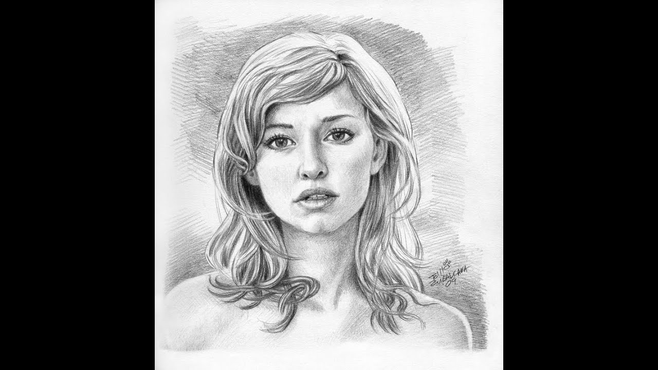 Fastest drawing ever beautiful girl