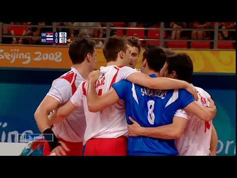 Volleyball Olympics 10 08 2008 Men Serbia - Russia