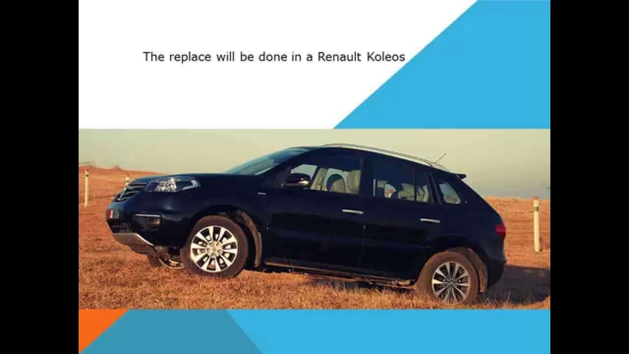 how to change oil and filter on koleos