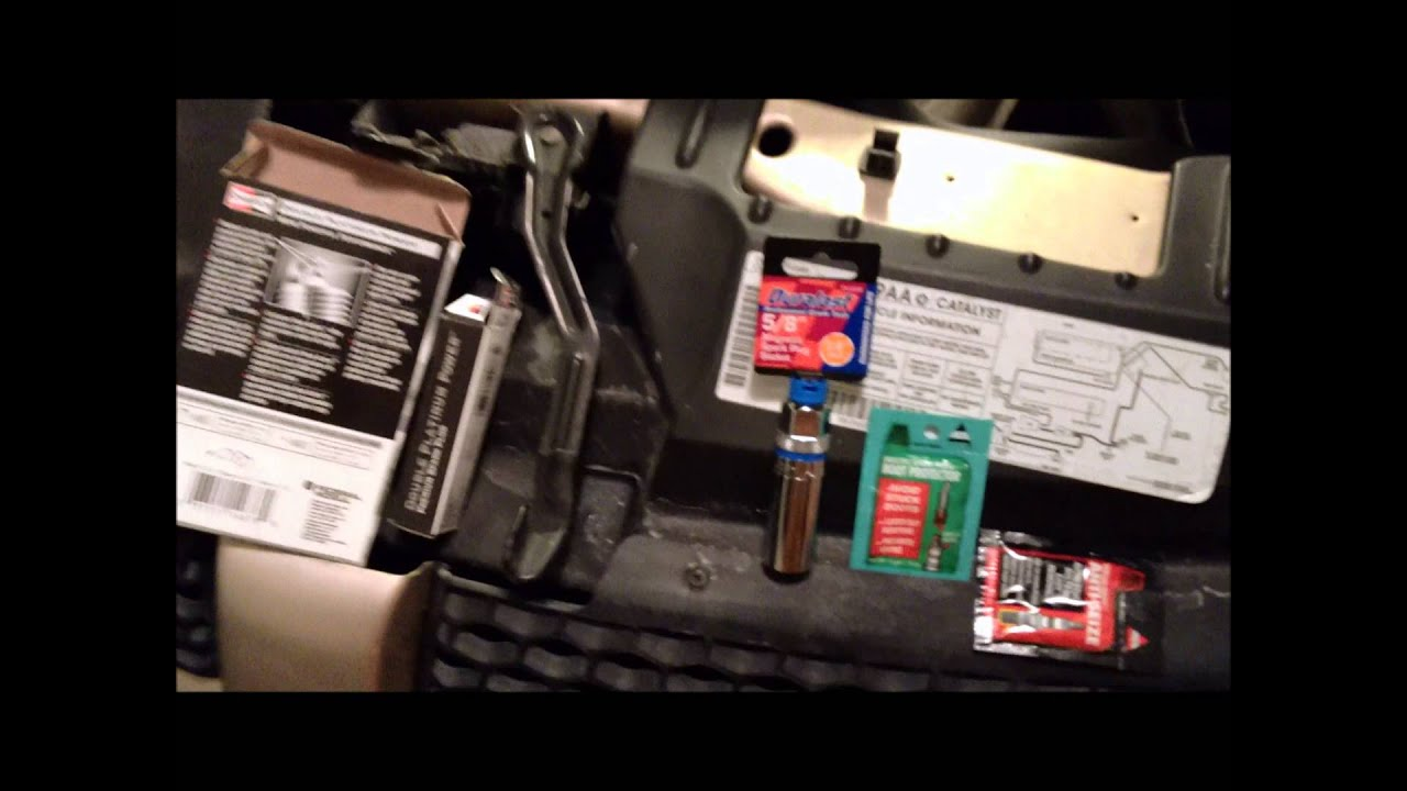 Change Spark Plugs And Wires On 2001 Dodge Grand Caravan Youtube Wiring