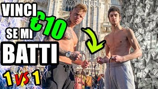 REGALO 10 EURO a chi riesce a BATTERMI nel salto con la corda! | 1 vs 1 (MILANO)