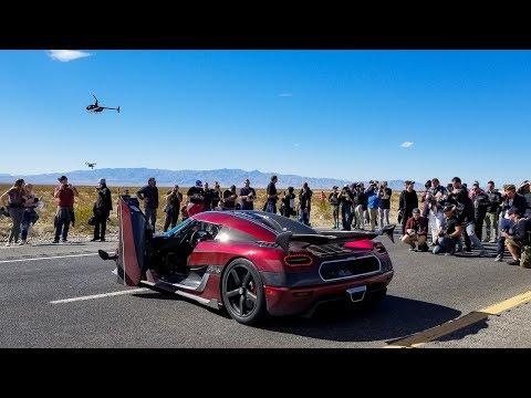 Koenigsegg Agera RS DESTROYS Bugatti World Speed Record