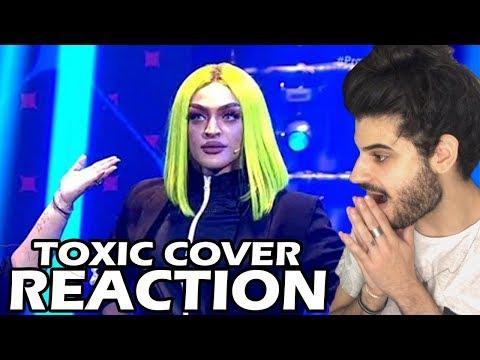 Pabllo Vittar - Toxic Cover no &39;Prazer Pabllo Vittar&39; REACTION  Reação e comentários