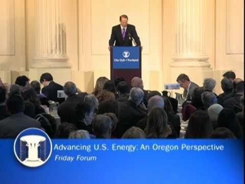Advancing US Energy: An Oregon Perspective - Senator Ron Wyden