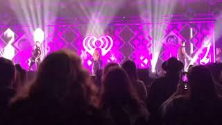 Dinah Jane performing 'Bottled Up' at Jingle Ball 2018