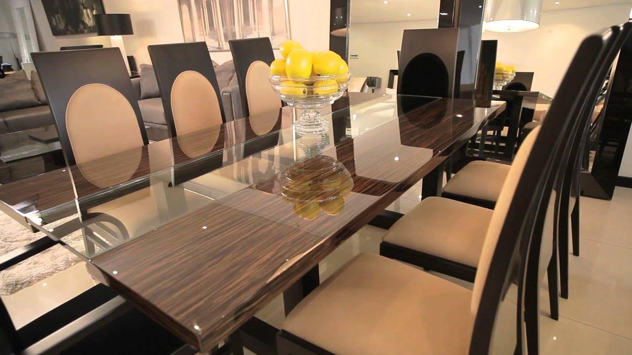 Comedores y muebles de lujo by fernando garc a youtube - Comedores altos modernos ...