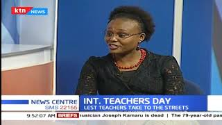 International teachers day: KNUT gives TSC 14 days to meet demands