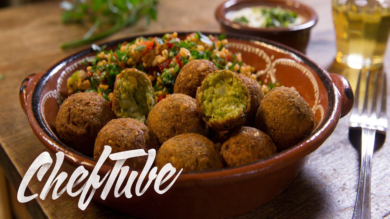 How to Make Falafel - Recipe in description - YouTube