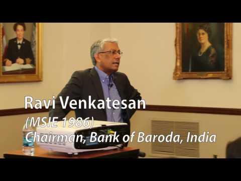 "2017 Moshe Barash Lecture - Ravi Venkatesan ""The Fourth Industrial Revolution"""