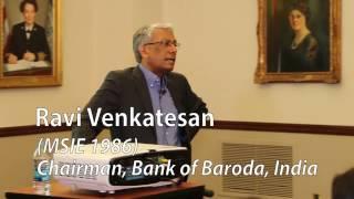 2017 Moshe Barash Lecture - Ravi Venkatesan