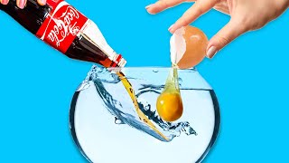 UNDERWATER TRICKS WITH EGGS || 28 Genius Eggs Cooking Tips by 5-Minute Recipes!
