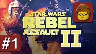 Star Wars: Rebel Assault 2: The Hidden Empire - #1 - Gameplay - PC - German / Deutsch