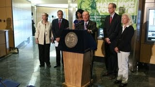 Mayor Bloomberg Announces Support of City's Anti Obesity Proposal
