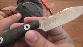 How To Restore A Rusty Old Knife...