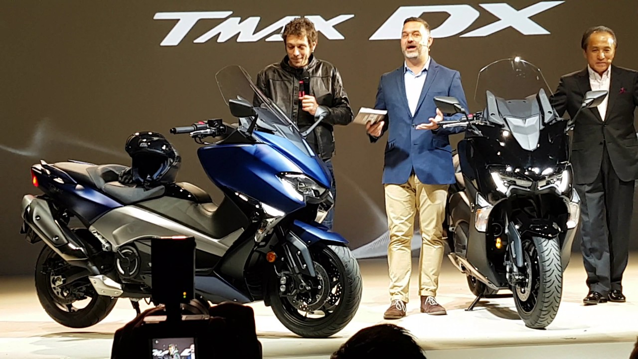Yamaha TMax DX World Premiere By Valentino Rossi