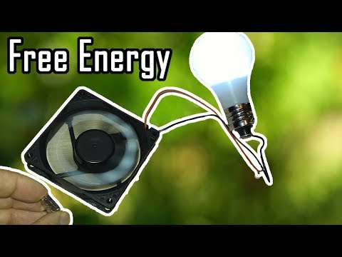 How To Make Cpu Fan Free Energy Generator