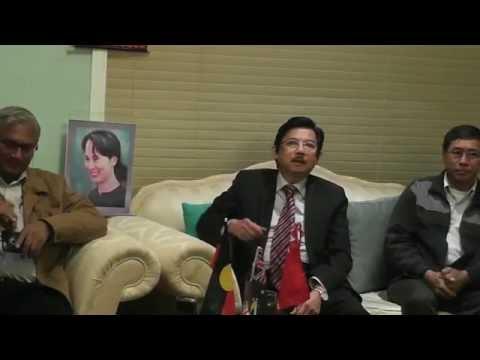 U Ko Ni ( Advisor to the NLD ) meets Sydney  Burmese Community  23 - 8 - 2016(A)