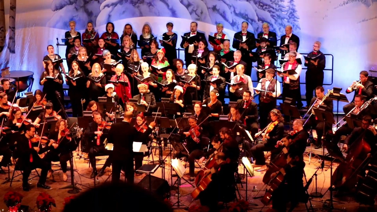 9ab1e60b2a272 Golden State Pops Orchestra - Holiday Sing Along Ensemble - YouTube