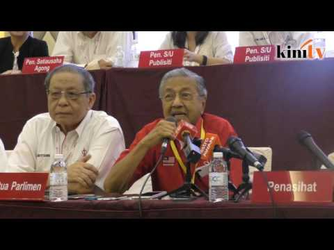 Mahathir: I had wrong impression of DAP in the past