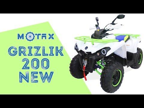 Подростковый квадроцикл MOTAX ATV Grizlik 200 New - Обзор