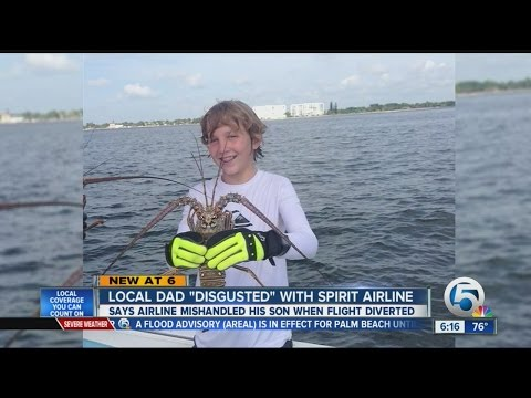 Local dad 'disgusted' with Spirit Airline'