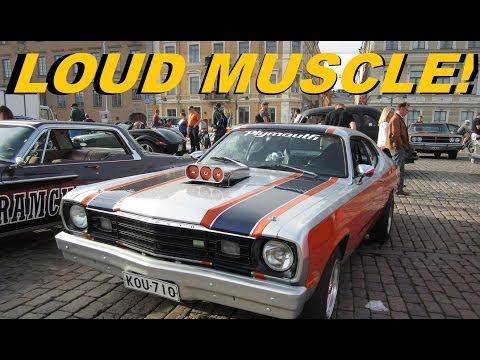 LOUD MUSCLE! Helsinki Cruising Night 6.6.2014
