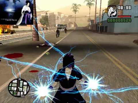 Mod Gta-sa Sasuke Jutsu