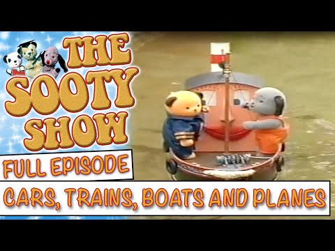 Cars, Trains, Boats and Planes | The Sooty Show | Full Episode