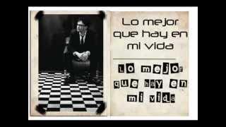 Andrés Cepeda-  Lo mejor que hay en mi vida (Letra Oficial)