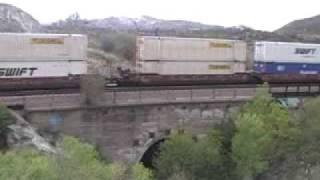 Old Historic Blue Cut Bridge in Cajon Pass