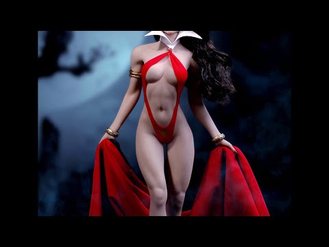 osw.zone Preview for the newly announced 1/6 scale Vampirella figure. Thanks to my buddy ...