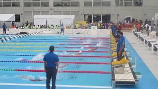 えひめ国体 水泳競技・競泳/女子200m個人メドレー(無差別)予選4組、1着:大橋悠依(滋賀)2分15秒59 大橋悠依 検索動画 16