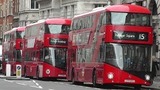 New Bus For London / New Routemaster October 2015 Update