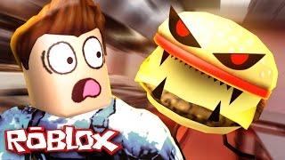 Roblox Adventures / Entfliehen Sie dem bösen Restaurant Obby / Entfliehen Sie dem Mutanten Essen!