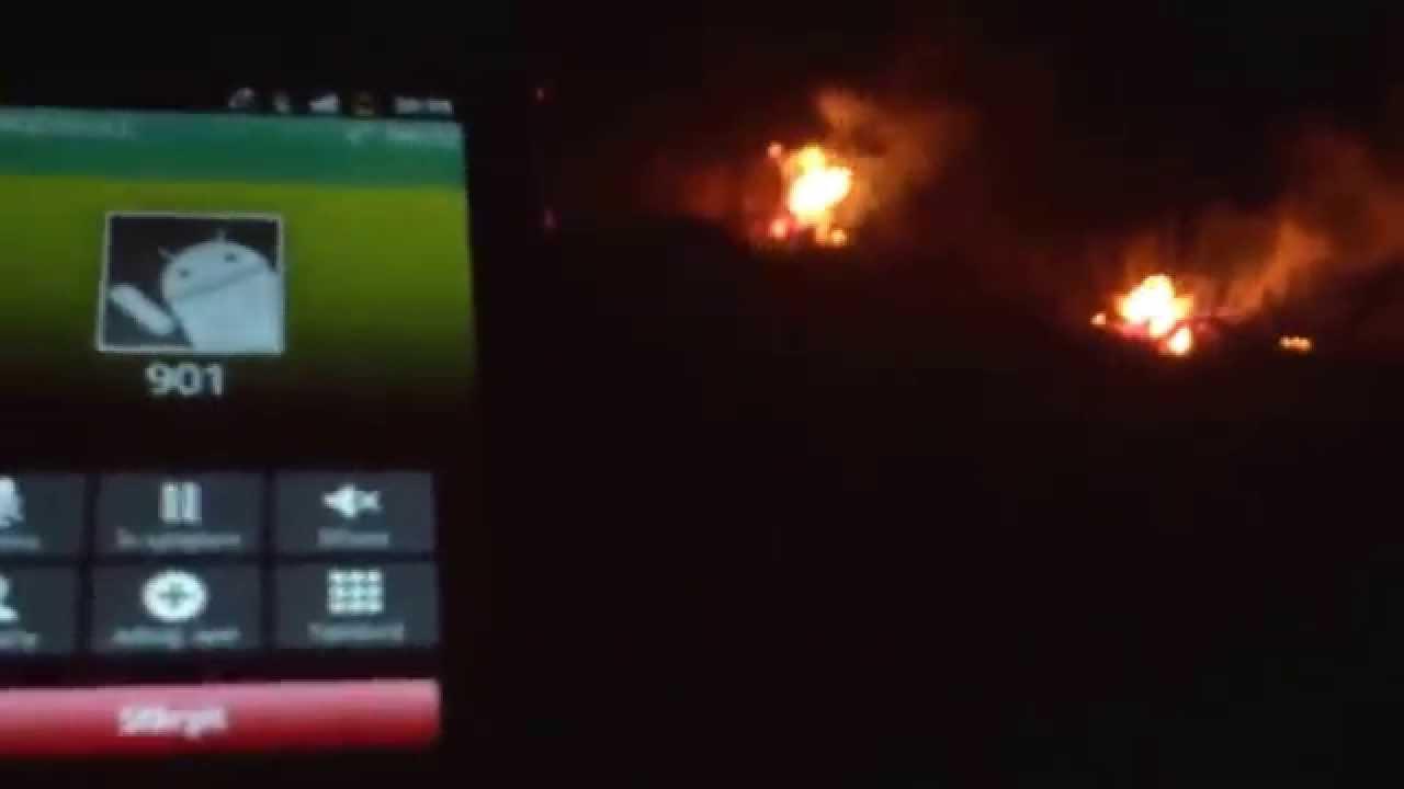Ardea vegetația la Trebisăuți, Briceni și am sunat la 901