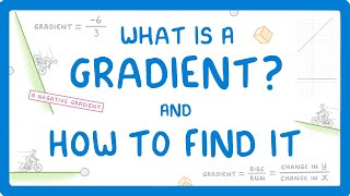 GCSE Maths - How to Find the Gradient of a Straight Line #65