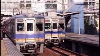 南海高野線 白鷺駅の電車発着&通過集