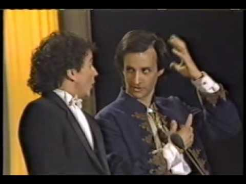 Bronson & Mark at 1st Annual Comedy Awards 1987