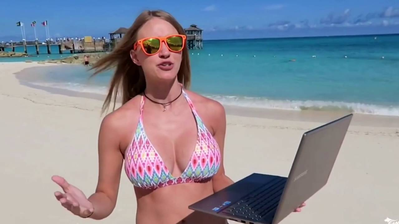 Hot Fangs Beach Bikini Boobs - Youtube-1839