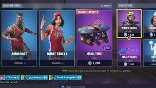 *NEW* Fortnite Item Shop Refresh 5/29! Jumpshot & Triple Threat skins back in shop!