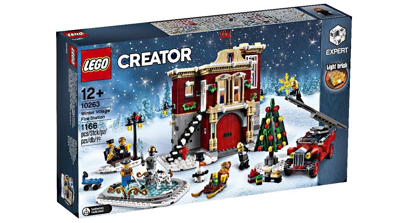 LEGO Winter Village 2018 Fire Station revealed!