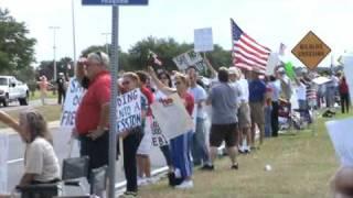 Viera Florida Tax Day Tea Party 2